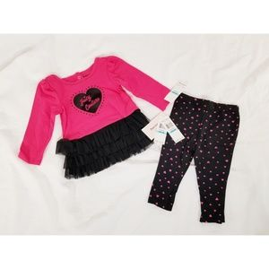 Juicy Couture Heart Tulle 2-Piece Set